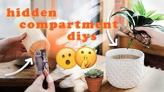 3 Amazing Hidden Compartment DIYs!