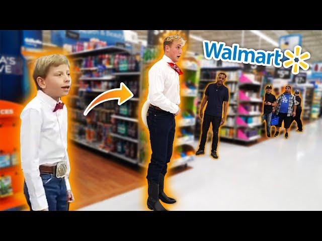 JAKE PAUL YODELING IN WALMART!! *KICKED OUT*