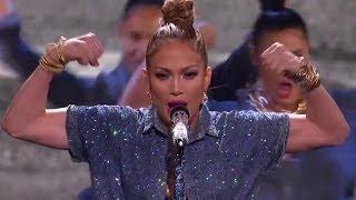 Jennifer Lopez Lip Syncs 'I Luh You Papi' on American Idol!