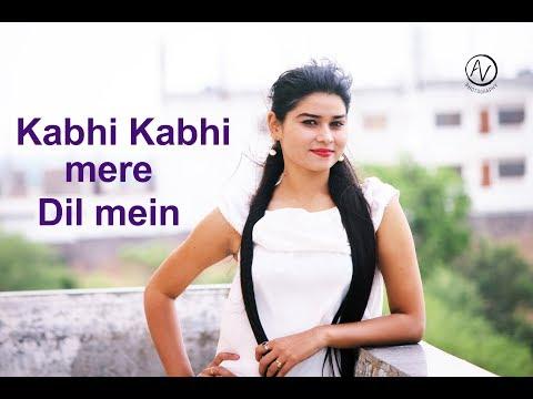 Kabhi kabhi mere dil me khayaal ata hai - female cover by grisha shukla
