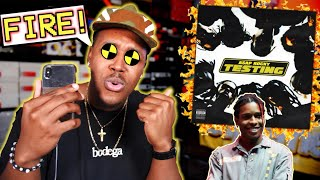 A$AP Rocky - TESTING | ALBUM REACTION & MY THOUGHTS! FIRE OR NAH?