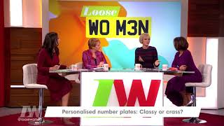 Jane's Husband Has an Accidental Personalised Number Plate | Loose Women