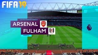 FIFA 19 - Arsenal vs. Fulham FC @ Emirates Stadium