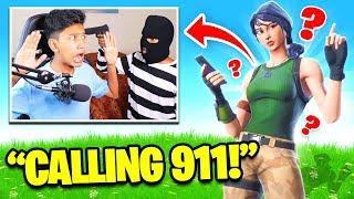 Robbery Prank on Teammates in Fortnite