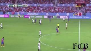 اهداف مباراة برشلونة و اشبيلية اليوم كأس السوبر الأسباني 2_0 بجودة عالية جداHD