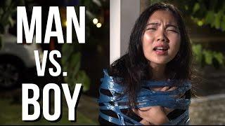 MAN vs. BOY