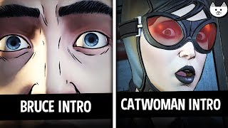 BRUCE BEGINNING vs CATWOMAN BEGINNING INTRO - Episode 4 - Batman The Enemy Within Episode 4 Choices