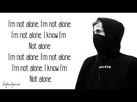 Alone Alan Walker Lyrics