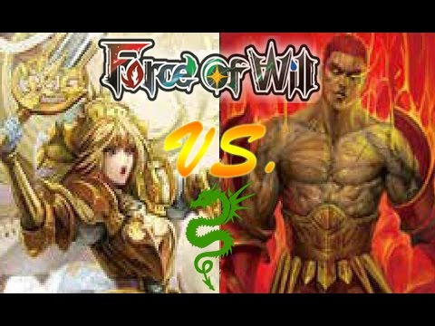 Force of Will (TCG) Feature Match: Faria vs Melgis Dual Decks