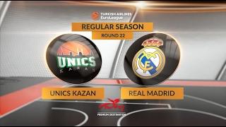 Highlights: Unics Kazan-Real Madrid