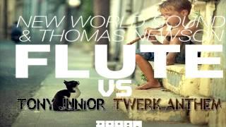 Flute vs Twerk Anthem (original remix) by AaSound