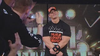 WWE Network: John Cena makes a surprise return at Royal Rumble 2008