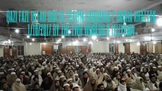 Dar Ul Uloom Haqqania Pashto Bayan 2 Qazi Fazl Ullah 1/10/2017 Akora Khattak Video Pakistan