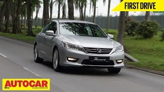 2015 Honda Accord | Exclusive First Drive Video Review | Autocar India