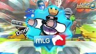 El Mejor Vídeo de Clash Royale!! Mi mejor MLG!! (Feat ShooterCoC)
