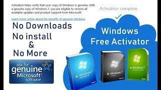 Windows7 ultimate 32 bit and 64 bit genuine product key problem fix with slui and cmd