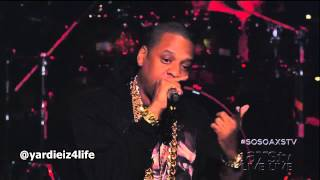 Jay-Z So So Def's 20th Anniversary Performance PSA & Clique