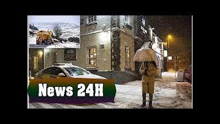Britain plunges back into sub-zero temperatures with up to 4in of snow | News 24H