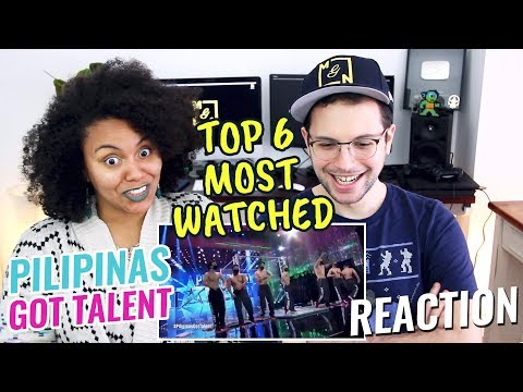 Top 6 Most Viewed Auditions Pilipinas Got Talent 2018 REACTION