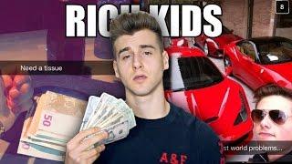 Most Spoiled Rich Teens Snapchats