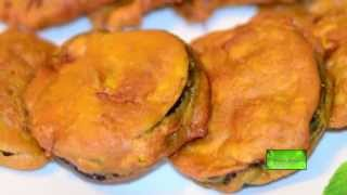 Beguni - Ramadan Recipe for Iftar - Batter Fried Eggplant