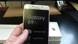 SAMSUNG GALAXY A9 6 A9000 Unboxing Video – in Stock at www.welectronics.com