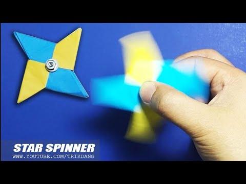 Xxx Mp4 DIY FIDGET SPINNER How To Make A Paper Fidget Spinner EASY Instructions Star Spinner 3gp Sex