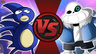 SANIC vs SANESS! (MLG vs Undertale Meme) Cartoon Fight Club Episode 169!