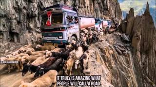 Most Amazing Highways in the World (Stitches and Burns)