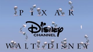 298-Twenty One Pixar Lamps Luxo Jr Logo Spoof Pixar-Walt Disney-Disney Channel With Time Reverse