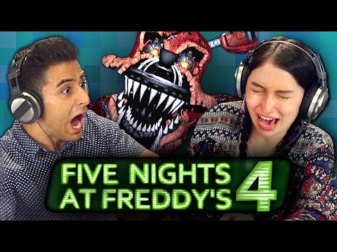 FIVE NIGHTS AT FREDDY S 4 REACT Gaming