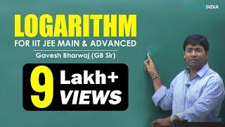 Logarithm video Lecture of Maths by Gavesh Bharwaj (GB) Sir (ETOOSINDIA.COM)