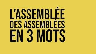 Assemblée Des Assemblées à St Nazaire : En 3 Mots ?