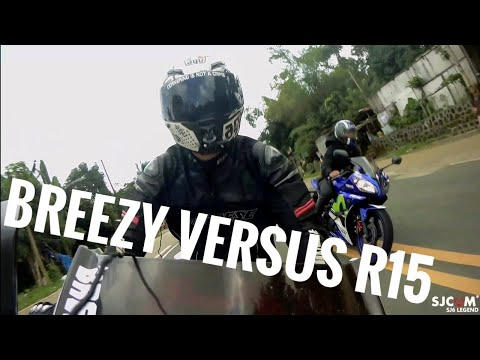 Breezy vs R15  uphill vlog  LETS RIDE!
