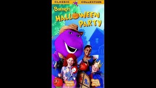 Barney's Halloween Party (1998 VHS Rip)