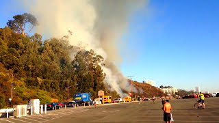 Wildfires California-Fire Fighting Helicopters in California