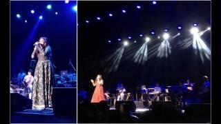 Shreya Ghoshal singing Ekla Chalo Re | Sacramento 2016