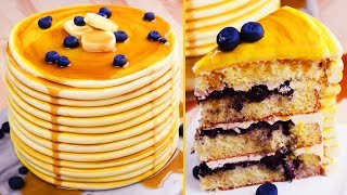 Trick Recipes | PAN CAKES | Cake Hacks | Easy DIY Recipes by So Yummy