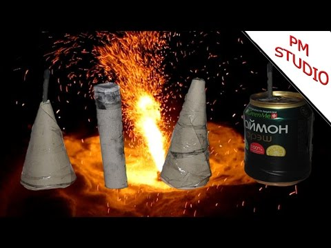 Как сделать ракету на аммиачной селитре
