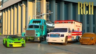 Florence si Ambulance dan Ross si Mobil Balap - Real City Heroes (RCH) | Coilbook Indonesia