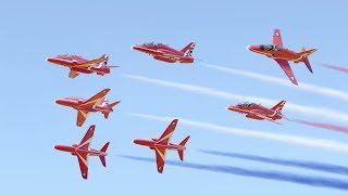 Virtual Red Arrows - VFAT 2017