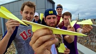 Paper Airplane Battle