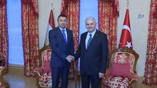 Başbakan Binali Yıldırım, Tacikistan Başbakanı