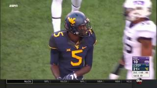 TCU at West Virginia | 2016 Big 12 Football Highlights