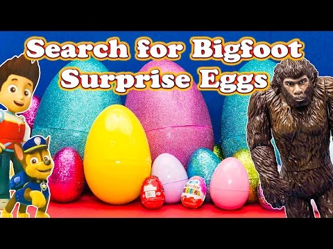 Xxx Mp4 Is Bigfoot In One Of The Giant Paw Patrol Surprise Eggs 3gp Sex