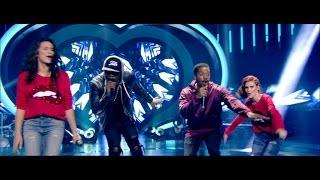 Amerikaanse allures: Demi, Hanne en R. City met wereldhit 'Locked Away' | K3 Zoekt K3 | VTM