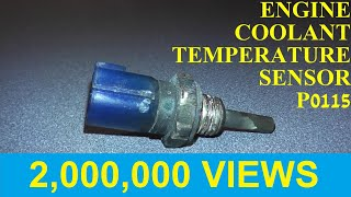 How to Test and Replace an Engine Coolant Temperature Sensor P0115 / P0125