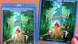Disney Bambi 2 blu ray unboxing review