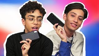 WHAT 'S ON MY IPHONE X ?! | Bilal Hassani et Sparkdise