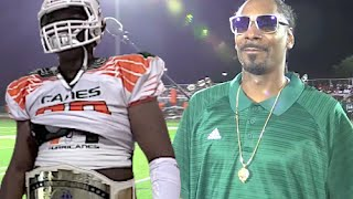Fort Lauderdale Hurricanes v Snoop Dogg Pomona D.V Steelers 14U : UTR Highlight Mix 2016